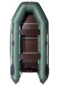 Лодка ПВХ Хантер 320 ЛК надувная под мотор